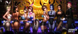 Rating: Safe Score: 72 Tags: animal_ears ass black_hair blonde_hair blue_eyes blue_hair bow braids breasts brown_eyes brown_hair bunnygirl cleavage collar dark_skin drink d.va elbow_gloves glasses gloves green_eyes group hat headband headdress liang_xing long_hair mei_(overwatch) mercy_(overwatch) overwatch pantyhose pharah_(overwatch) photoshop pink_hair ponytail realistic scar short_hair shorts stockings symmetra tail tattoo thighhighs tie tracer watermark widowmaker wristwear yellow_eyes zarya User: RychterZychter
