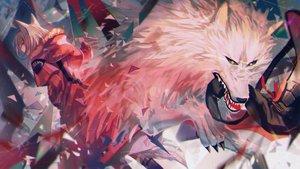 Rating: Safe Score: 38 Tags: animal animal_ears arknights hoodie projekt_red_(arknights) wolf wolfgirl yasato User: Dreista
