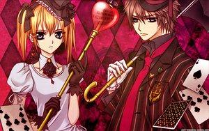 Rating: Safe Score: 35 Tags: shiki_senri touya_rima vampire_knight watermark User: cerezo-kuran