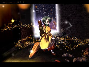 Rating: Safe Score: 1 Tags: aliasing doll gun kanaria rozen_maiden weapon User: Oyashiro-sama