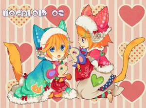 Rating: Safe Score: 32 Tags: catboy catgirl kagamine_len kagamine_rin macco male tail vocaloid User: HawthorneKitty