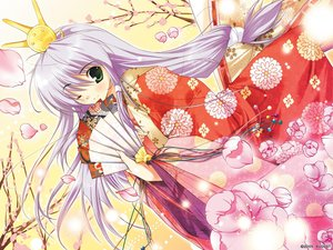 Rating: Safe Score: 12 Tags: augustic_pieces feena_fam_earthlight japanese_clothes kimono mikeou yoake_mae_yori_ruri_iro_na User: Oyashiro-sama