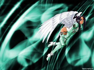 Rating: Safe Score: 2 Tags: green mechagirl taka_tony tempest wings zard User: Oyashiro-sama