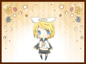 Rating: Safe Score: 3 Tags: chibi flowers kagamine_rin mirimo vocaloid User: MissBMoon