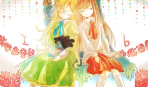 Rating: Safe Score: 32 Tags: 2girls doll dress hii101 ib ib_(ib) mary_(ib) sleeping User: FormX