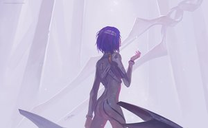 Rating: Safe Score: 126 Tags: ayanami_rei bandage bodysuit chenbo neon_genesis_evangelion skintight User: FormX