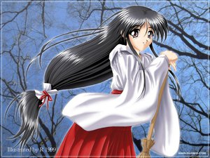 Rating: Safe Score: 6 Tags: japanese_clothes miko r tagme User: Oyashiro-sama