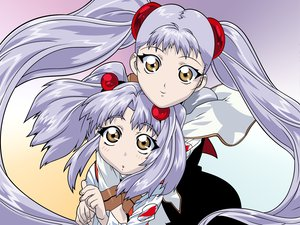 Rating: Safe Score: 2 Tags: 2girls close hoshino_ruri nadesico transparent twintails uno_makoto vector User: Oyashiro-sama