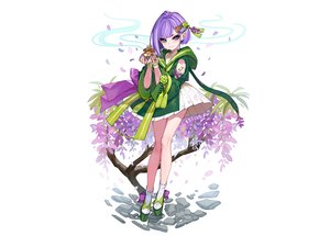 Rating: Safe Score: 27 Tags: aqua_eyes dress flowers gloves hoodie japanese_clothes omuro_musume petals purple_hair short_hair socks third-party_edit white yuu_(higashi_no_penguin) User: otaku_emmy