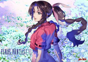 Rating: Safe Score: 10 Tags: aerith_gainsborough black_eyes black_hair braids final_fantasy final_fantasy_vii long_hair miyo_(13th_floor) petals ponytail signed twintails User: RyuZU