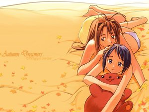 Rating: Safe Score: 2 Tags: autumn bed love_hina maehara_shinobu narusegawa_naru User: Oyashiro-sama