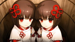 Rating: Safe Score: 163 Tags: akeiro_kaikitan brown_hair close game_cg japanese_clothes loli miko red_eyes ruka_(akeiro_kaikitan) ruri_(akeiro_kaikitan) short_hair silkys_plus sumeragi_kohaku twins User: mattiasc02