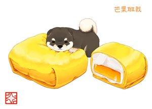 Rating: Safe Score: 53 Tags: animal dog food lilac_(pfeasy) original waifu2x white User: otaku_emmy
