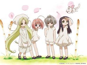Rating: Safe Score: 1 Tags: bottle_fairy chiriri duplicate hororo kururu oboro pointed_ears sarara User: Oyashiro-sama