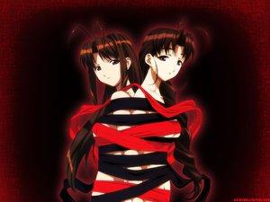 Rating: Safe Score: 13 Tags: 2girls breasts brown_eyes brown_hair long_hair love_hina narusegawa_naru nude otohime_mutsumi ribbons User: Oyashiro-sama