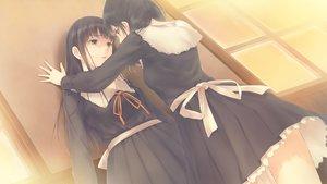 Rating: Safe Score: 144 Tags: 2girls flowers_(game) game_cg hanabishi_rikka innocent_grey ribbons school_uniform shirahane_suou sugina_miki User: C4R10Z123GT