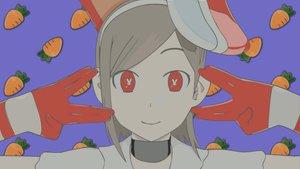 Rating: Safe Score: 2 Tags: bunnygirl food getsumen_to_heiki_mina red_eyes tsukuda_mina User: Oyashiro-sama