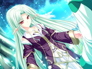 Rating: Safe Score: 18 Tags: cecile_absentia dress game_cg green_hair long_hair magus_tale pink_eyes pointed_ears tenmaso whirlpool User: Oyashiro-sama