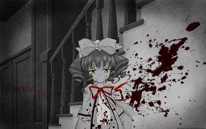 Rating: Safe Score: 64 Tags: blood bow hina_ichigo polychromatic ribbons rozen_maiden yellow_eyes User: Oyashiro-sama