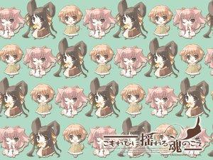 Rating: Safe Score: 18 Tags: animal_ears bunny_ears bunnygirl chibi itou_noiji komorebi_ni_yureru_tamashii_no_koe kouenji_ayana sui tachibana_koharu User: Maho