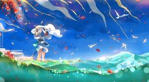 Rating: Safe Score: 46 Tags: aliasing animal arslan_senki bird flowers male petals short_hair sword tagme_(artist) tagme_(character) water weapon white_hair User: RyuZU
