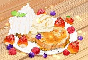 Rating: Safe Score: 21 Tags: animal bird cake chai_(artist) food fruit ice_cream original signed strawberry User: otaku_emmy