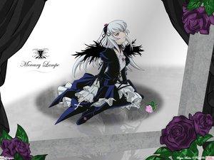 Rating: Safe Score: 59 Tags: flowers gothic long_hair pink_eyes rozen_maiden suigintou white_hair wings User: Oyashiro-sama