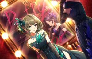 Rating: Safe Score: 42 Tags: 2girls annin_doufu elbow_gloves gloves hayami_kanade idolmaster idolmaster_cinderella_girls idolmaster_cinderella_girls_starlight_stage mirror reflection takagaki_kaede User: luckyluna