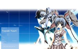 Rating: Safe Score: 24 Tags: animal_ears blue_eyes blue_hair bow braids bunny_ears bunnygirl short_hair supreme_candy tsuyuki_yuuri User: rargy