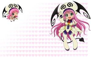 Rating: Safe Score: 55 Tags: green_eyes jpeg_artifacts lala_satalin_deviluke long_hair pink_hair to_love_ru User: Hikikomo