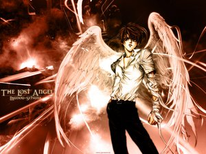 Rating: Safe Score: 10 Tags: angel_sanctuary setsuna_mudou wings User: Oyashiro-sama