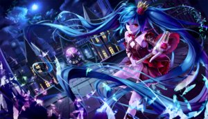 Rating: Safe Score: 59 Tags: bicolored_eyes hatsune_miku kin_toki vocaloid User: RyuZU