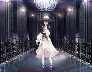 Rating: Safe Score: 71 Tags: blood dress fang gothic hongsung0819 original pointed_ears vampire User: Dreista