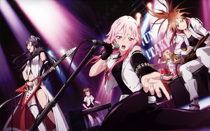 Rating: Safe Score: 122 Tags: blonde_hair blush brown_eyes brown_hair drums guilty_crown guitar instrument kuhouin_arisa long_hair menjou_hare microphone piano pink_hair ponytail red_eyes scan shinomiya_ayase thighhighs tsugumi twintails yuzuriha_inori User: meccrain