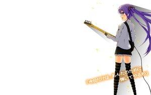 Rating: Safe Score: 23 Tags: blush bow gloves guitar hiiragi_kagami instrument long_hair lucky_star purple_eyes purple_hair ribbons skirt tagme_(artist) thighhighs white User: atlantiza