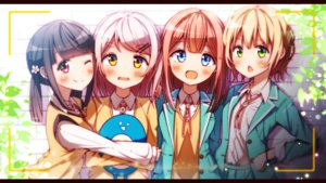 Rating: Safe Score: 36 Tags: bokkun_(koukii) group hug original User: luckyluna