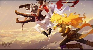 Rating: Safe Score: 52 Tags: blake_belladonna gods ruby_rose rwby tagme weiss_schnee yang_xiao_long User: luckyluna