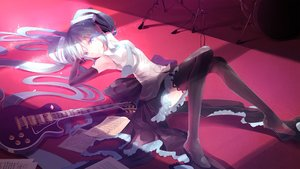 Rating: Safe Score: 25 Tags: hatsune_miku vocaloid yotsuba0052 User: Flandre93