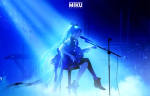 Rating: Safe Score: 119 Tags: ajimita aqua_hair blue guitar hatsune_miku instrument long_hair microphone twintails vocaloid User: mattiasc02