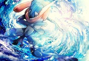 Rating: Safe Score: 9 Tags: greninja pokemon sei_mutsuki water User: RyuZU