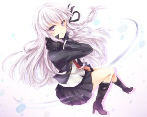 Rating: Safe Score: 203 Tags: boots braids dangan-ronpa gloves kirigiri_kyouko kousetsu long_hair purple_eyes skirt tie User: FormX