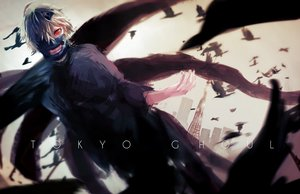 Rating: Safe Score: 118 Tags: all_male hassan_(sink916) kaneki_ken male mask red_eyes tokyo_ghoul User: FormX