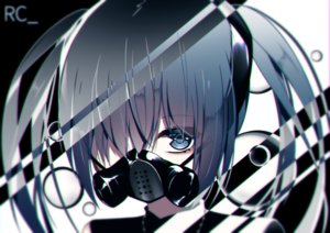 Rating: Safe Score: 2 Tags: giryu hatsune_miku twintails vocaloid User: sadodere-chan