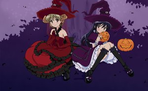 Rating: Safe Score: 21 Tags: halloween shakugan_no_shana shana witch yoshida_kazumi User: Jeffusz