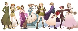 Rating: Safe Score: 30 Tags: america_(hetalia) apron axis_powers_hetalia bandaid baseball_bat blonde_hair boots brown_hair china_(hetalia) cleavage crown flowers food france_(hetalia) genderswap germany_(hetalia) glasses gloves hat japan_(hetalia) japanese_clothes kimono knife long_hair mcm northern_italy_(hetalia) nurse pizza ponytail russia_(hetalia) short_hair skirt socks tie twintails uniform united_kingdom_(hetalia) wink User: w7382001