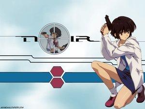 Rating: Safe Score: 11 Tags: gun noir school_uniform weapon yuumura_kirika User: Oyashiro-sama