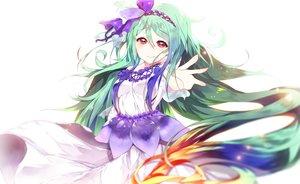 Rating: Safe Score: 4 Tags: aoiken green_hair long_hair red_eyes User: luckyluna
