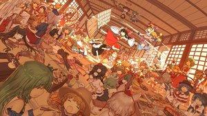 Rating: Safe Score: 221 Tags: aki_minoriko aki_shizuha alice_margatroid animal_ears bunny_ears bunnygirl chen cirno dahuang daiyousei doll doremy_sweet fairy flandre_scarlet food foxgirl fujiwara_no_mokou futatsuiwa_mamizou group hakurei_reimu hat hata_no_kokoro hieda_no_akyuu hijiri_byakuren hinanawi_tenshi houjuu_nue hourai houraisan_kaguya ibara_kasen ibuki_suika imaizumi_kagerou inaba_tewi inubashiri_momiji izayoi_sakuya japanese_clothes kagiyama_hina kaku_seiga kamishirasawa_keine kawashiro_nitori kazami_yuuka kijin_seija kirisame_marisa kishin_sagume kochiya_sanae komeiji_satori konpaku_youmu kumoi_ichirin letty_whiterock lunasa_prismriver lyrica_prismriver maid mask medicine_melancholy merlin_prismriver miko miyako_yoshika mononobe_no_futo moriya_suwako motoori_kosuzu murasa_minamitsu myon mystia_lorelei nagae_iku nazrin onozuka_komachi patchouli_knowledge reisen_udongein_inaba remilia_scarlet ringo_(touhou) rope rumia saigyouji_yuyuko seiran sekibanki shameimaru_aya shiki_eiki skirt soga_no_tojiko sukuna_shinmyoumaru su-san tatara_kogasa toramaru_shou touhou toyosatomimi_no_miko tsukumo_benben vampire wakasagihime wings wolfgirl wriggle_nightbug yagokoro_eirin yakumo_ran yakumo_yukari yasaka_kanako User: Flandre93
