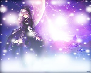 Rating: Safe Score: 36 Tags: goth-loli kishida_mel lolita_fashion rozen_maiden suigintou User: Oyashiro-sama