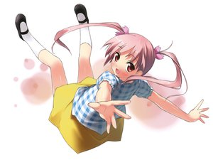 Rating: Safe Score: 43 Tags: 5_nenme_no_houkago kantoku miyaguchi_kanna original pink_hair scan twintails white User: Wiresetc